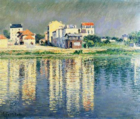 Moderne Kunst Häuser by H 228 User Spiegeln Sich Im Wasser Der Seine Gustave
