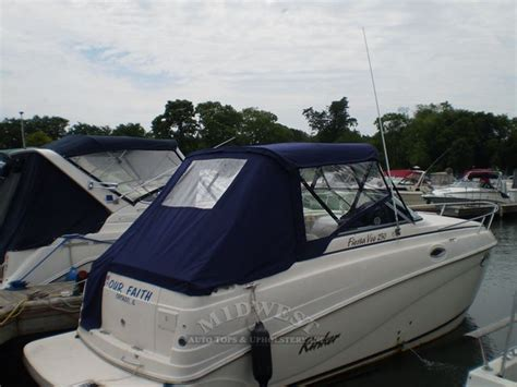 Rinker Boat Enclosures by Midwest Auto Tops Upholstery Rinker 250