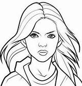 Hunger Games Coloring Pages Katniss Draw Everdeen Face Drawing Step Portrait Human Realistic Faces Woman Sheets Sheet Getdrawings Characters Google sketch template