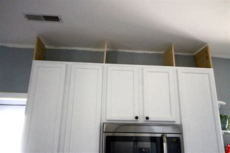 how to extend kitchen cabinets to ceiling how to extend kitchen cabinets to the ceiling charleston 9395