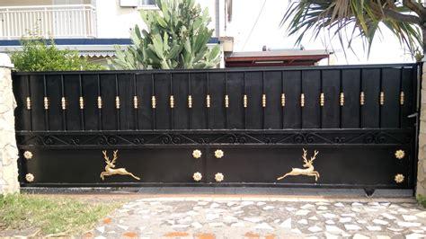 decoration pour portail fer maison design goflah