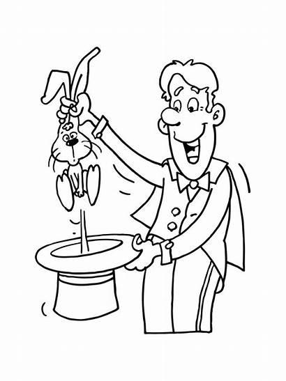 Zauberer Ausmalbilder Malvorlagen Zum Magician