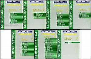 2003 Subaru Forester Repair Shop Service Manual Set Of 7