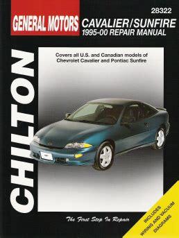 Chevrolet Cavalier Pontiac Sunfire Chilton
