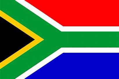 Africa South Clipart African Clip Flag Sa