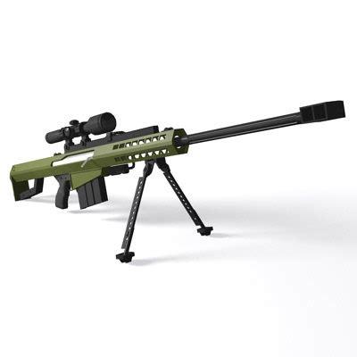 barrett  sniper rifle image military personnel