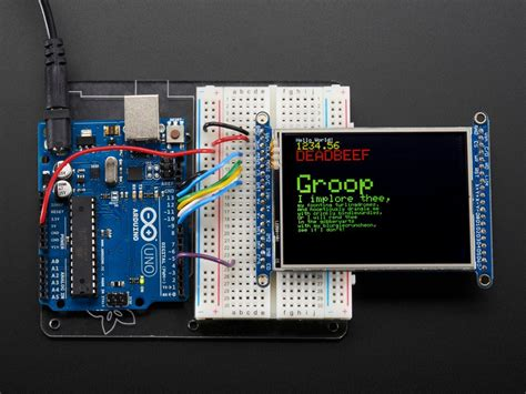 2.8 TFT LCD with Touchscreen Breakout Board w/MicroSD