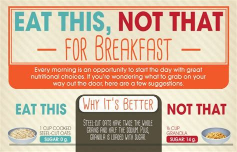 13 infographics to help you eat healthier