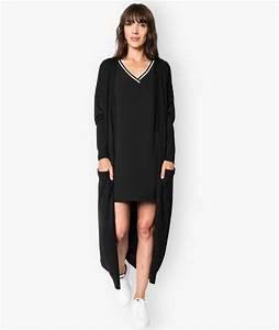 Gilet Long Noir Femme : gilet de costume femme ~ Voncanada.com Idées de Décoration