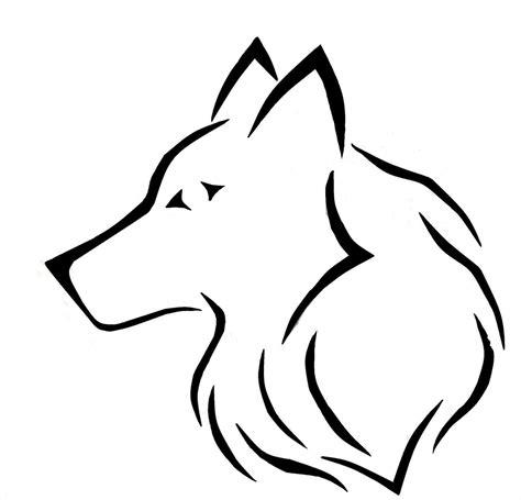 easy wolf drawings    easy wolf drawings