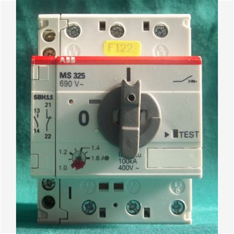 Abb Ms 325 690v, 1016a With Sbh11