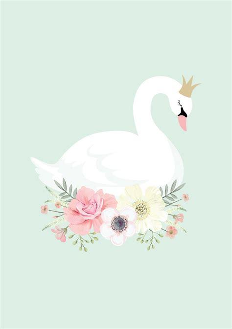 swan princess print ginger monkey