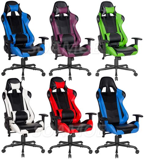 new arrival ruibao racing office car chair gaming chair
