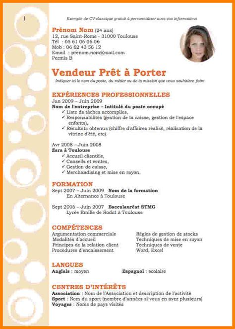 chef de rang en restauration 11 serveuse en restauration cv lettre officielle