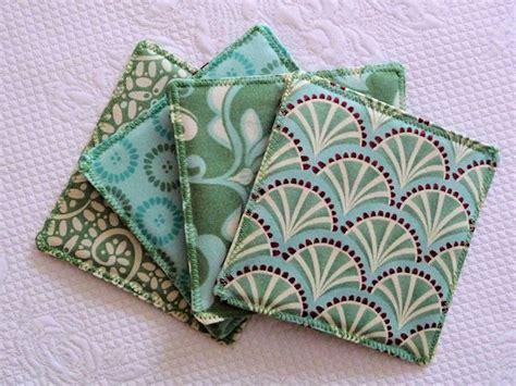 Duni's Studio: Reversible Fabric Coasters - TUTORIAL