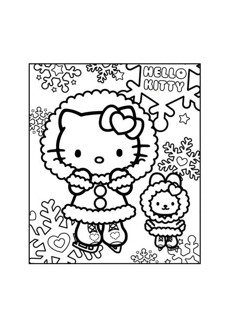 Pin by Melissa Vaughn on Other Hello kitty coloring
