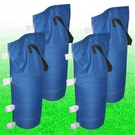 sand bag weight bag  pcs pack set  pop  ez canopy gazebo party tent ebay