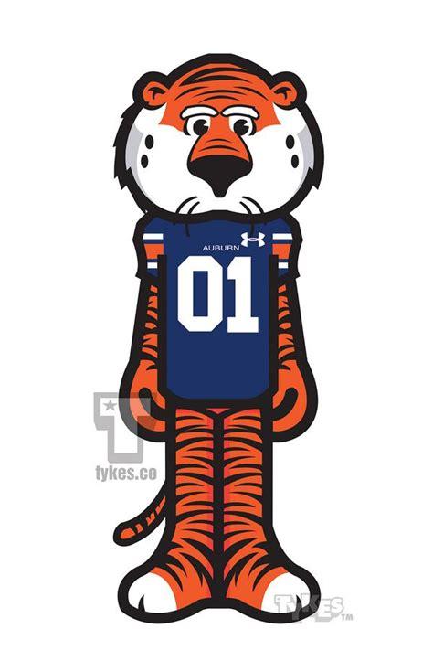 tykes  twitter aubie  tiger mascot tyke
