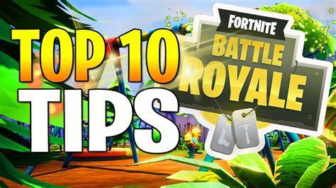 fortnite battle royale top  tips  tricks fortnite