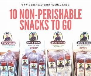 10 Non-Perishable Snacks To Go - Modern Alternative Mama