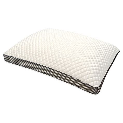 pillows bed bath and beyond therapedic 174 trucool memory foam side sleeper pillow bed