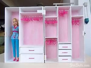 How to Make a Barbie Doll Closet | So I decide to make her ...