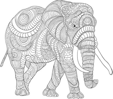 get this difficult elephant coloring pages for grown ups