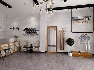 3d White Brick Feature Wall