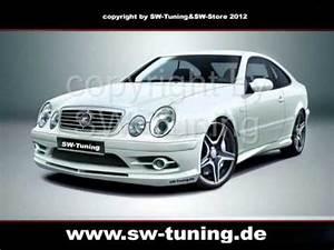Mercedes Clk Tuning : bodykit f r mercedes clk w208 st design front ~ Jslefanu.com Haus und Dekorationen