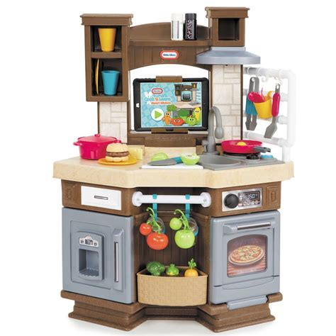 Lovely Little Tikes Inside Outside Kitchen For Your Kid