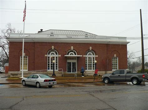 bureau en m騁al united states post office demopolis alabama