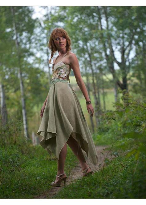 Fairy Wedding Dress Hand Embroidered With Butterflies