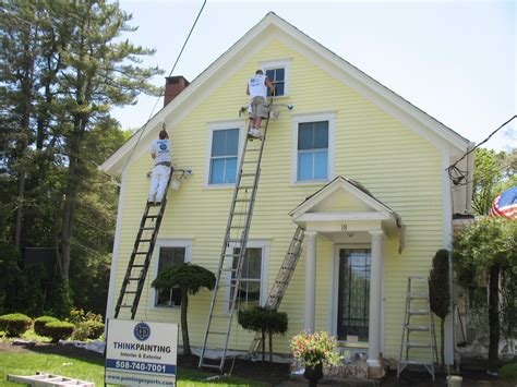 Exterior Painting : House Painters In Massachusetts And Rhode Island