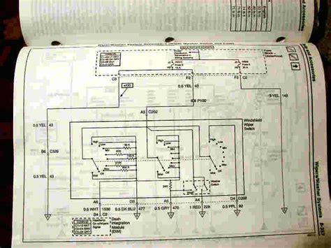 Wiper Motor Diagram Page Forum Buick Cadillac