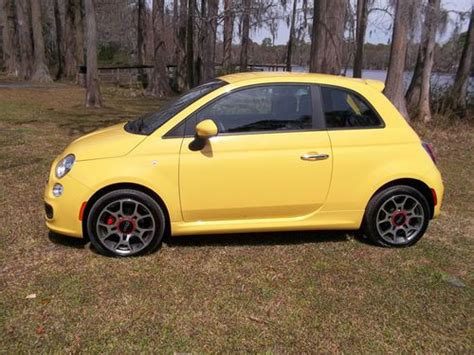 Used Fiat 500 Sport by Buy Used 2012 Fiat 500 Sport Automatic Cd Pwr Windows