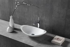 Aufsatzwaschbecken 60 Cm : aufsatzwaschbecken twa05 aus mineralguss pure acrylic matt 60 5 x 38 x 14 5 cm badewelt ~ Indierocktalk.com Haus und Dekorationen