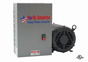 3hp Ul-listed Rotary Phase Converter