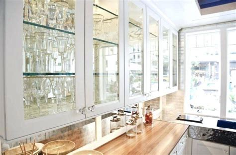 Kitchen Cabinets With Glasses by 16 Photo Of Cabinet Door Glass Options