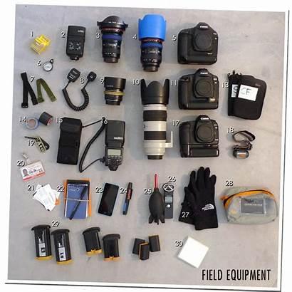Equipment Field Lines Van Journalists Drc Moll