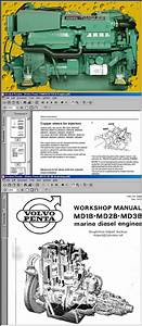 Volvo Penta Diesel Workshop Manuals On Cd
