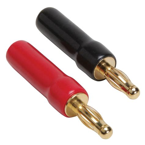 gold plated type banana plugs 18 12 awg 4 pcs