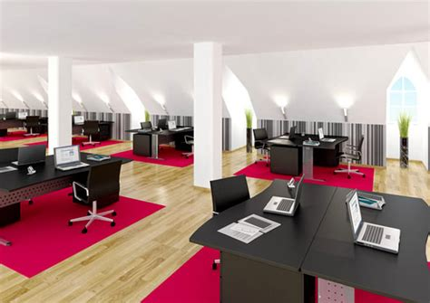 Chic And Awesome Office Interior Design With Stylish