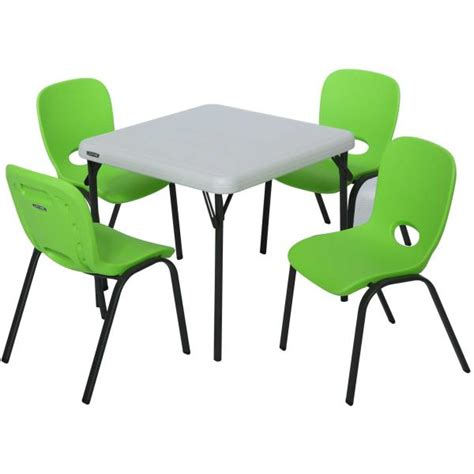 lifetime childrens table and stacking chairs 80500 1 table