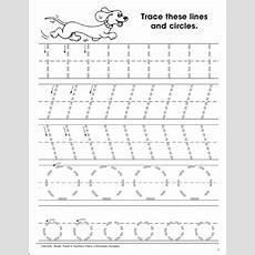 Tracing Skills Tracing Lines And Circles  Printable Skills Sheets