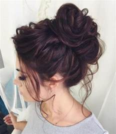 HD wallpapers messy bun hairstyles for long thick hair