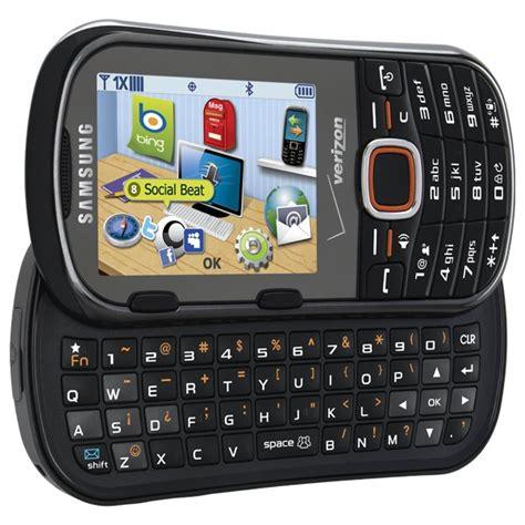 samsung intensity  slider red prepaid verizon phone