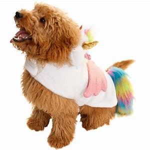 Dogs Novelty Fancy Dress Costume - Unicorn | Pets - B&M