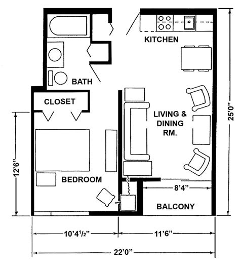 1 Bedroom Unit Layout by Apartment Layouts Midland Mi Official Website