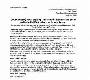 press release template phoenix systems With press release brief template