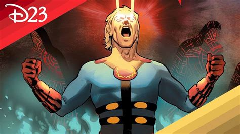 Marvel's The Eternals: Thena, Ikaris, Ajak, Phastos, Kingo ...